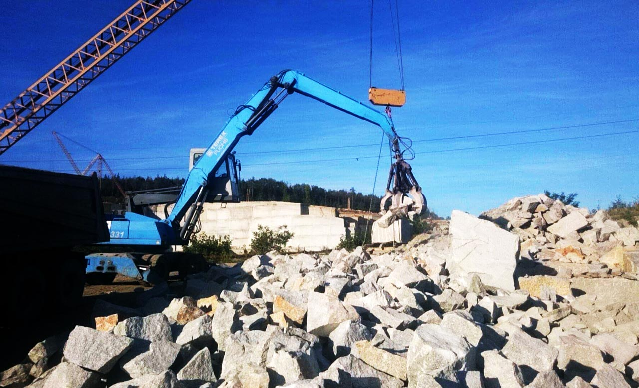 Dostawa kamienia hydrotechinicznego o frakcji 500/700