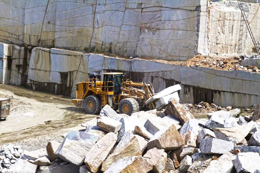 Wydobycie i produkcja kamienia hydrotechnicznego