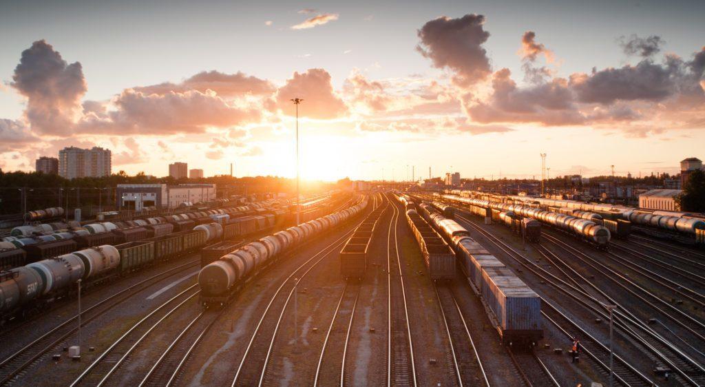 Transport kolejowy kruszyw - bocznica kolejowa