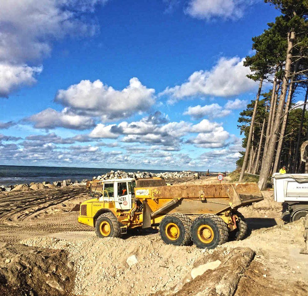 Kruszywo hydrotechniczne - wzmacnianie nabrzeży