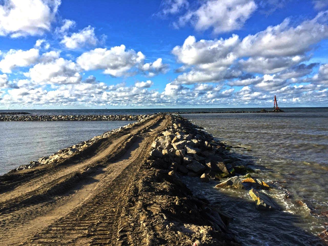 Hydrokamień do wzmocnienia nabrzeży