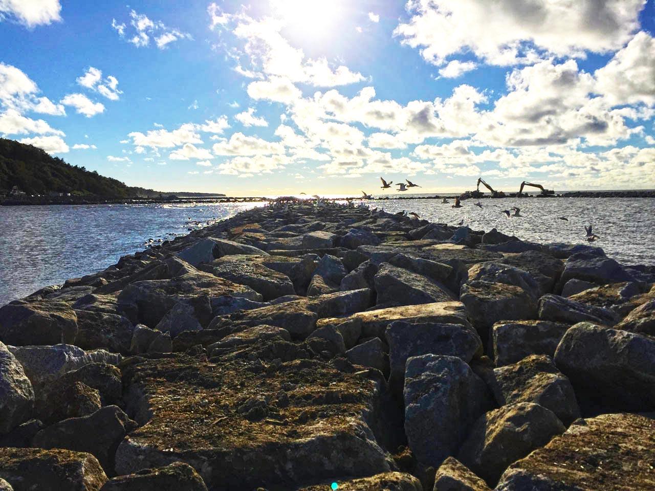 Kamień hydrotechniczny do nabrzeży