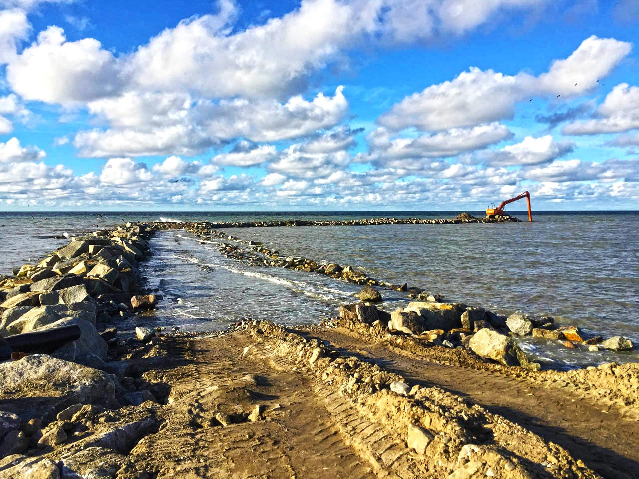 Wykorzystanie kruszywa hydrotechnicznego do wzmocnienia nabrzeży