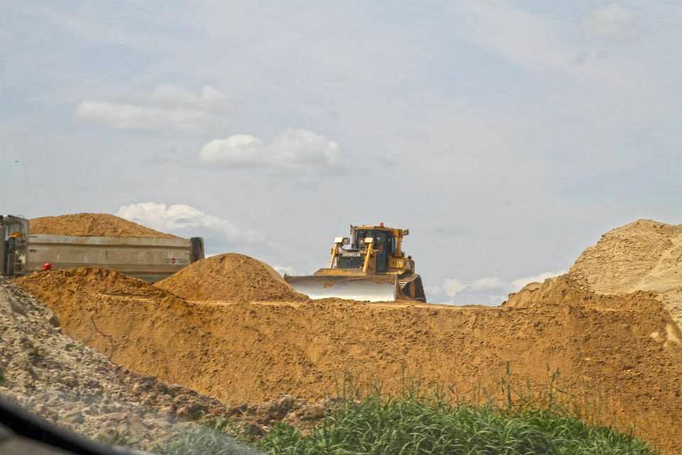 Wykorzystanie kruszyw drogowych podczas budowy drogi S8