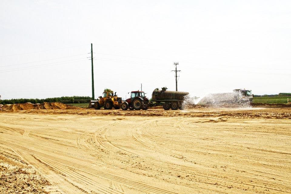 Kruszywo drogowe - budowa drogi S8