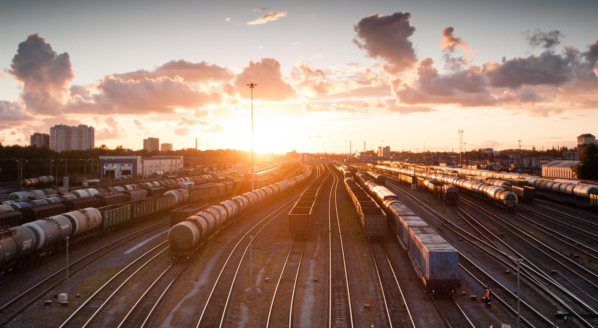 Transport kolejowy kruszyw